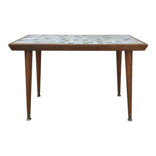 Vintage Mid-Century Modern Mosaic Coffee Table