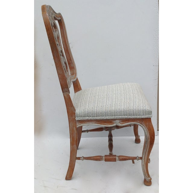 Antique French Parcel Gilt Accent Chair - Image 5 of 11
