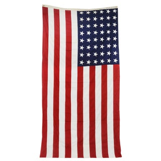 Vintage Extra Large 48 Star American Flag