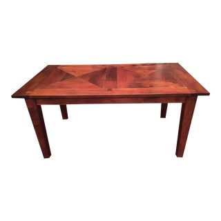 Arhaus Solid Wood Dining Table