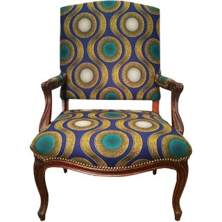 Enitan Kahlo African Textile Side Chair