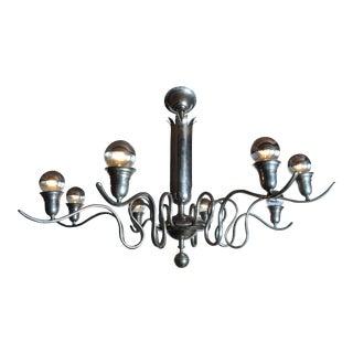 Hungarian Art Deco Chandelier