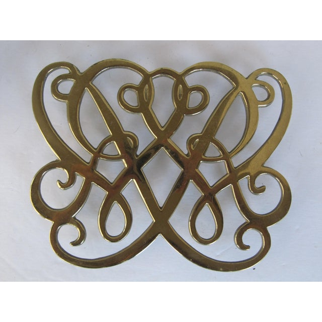 Brass Cypher Trivet - Image 3 of 4