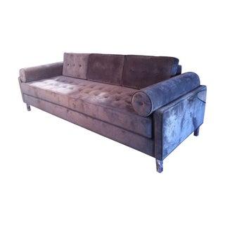 Mid Century Inspired Case #1 Pewter Sofa