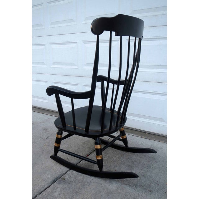 Nichols & Stone Hitchcock Windsor Rocker Chair - Image 5 of 5
