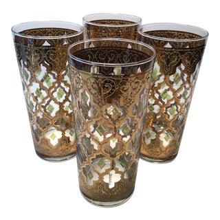 Mid-Century Culver Highball Glasses Valencia - Set of 4