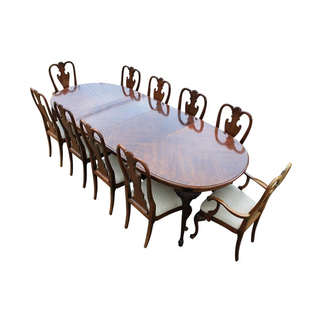 Thomasville Cherry Formal Dining Set - Image 1 of 10