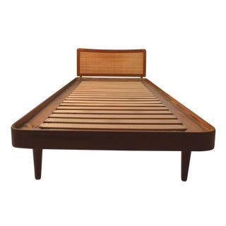 Mid-Century Danish Teak Twin Bed