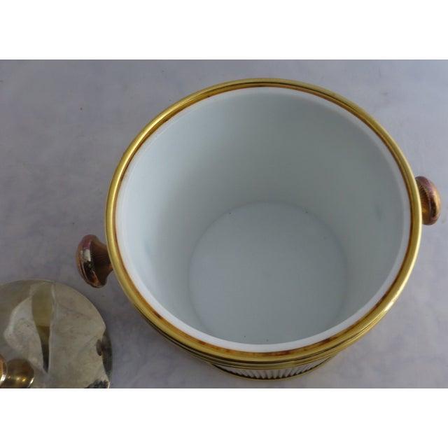 Vintage Brass & Chrome Ice Bucket - Image 6 of 7