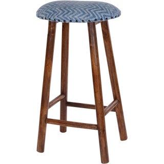 Indian Wooden Bar Stool