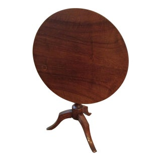 Antique Tilt Top Table, France