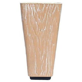 Mid-Century Modern Shawnee Faux Bois Vase