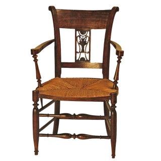 Italian Carved Armchair