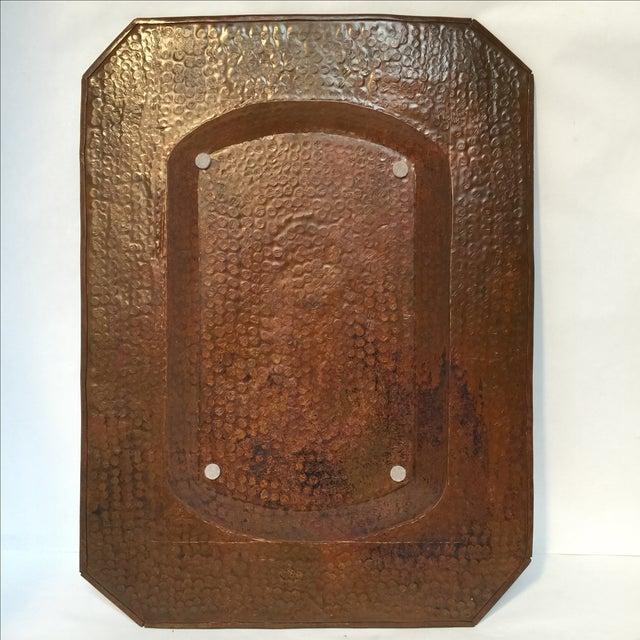 Image of Vintage Mission Hammered Copper Tray
