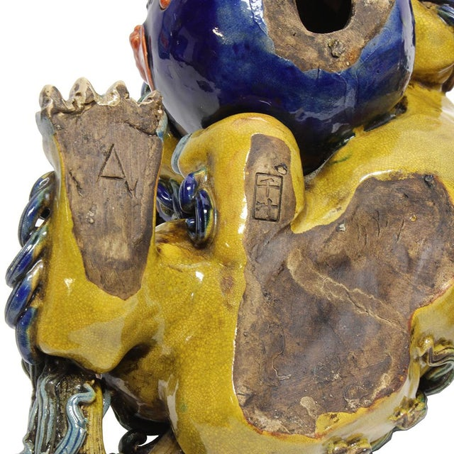 Image of Vintage Ceramic Foo Dogs - A Pair