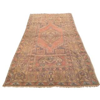 Vintage Anatolian Rug - 3′4″ × 6′1″