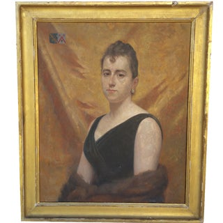 19th-Century Portrait of a French Woman