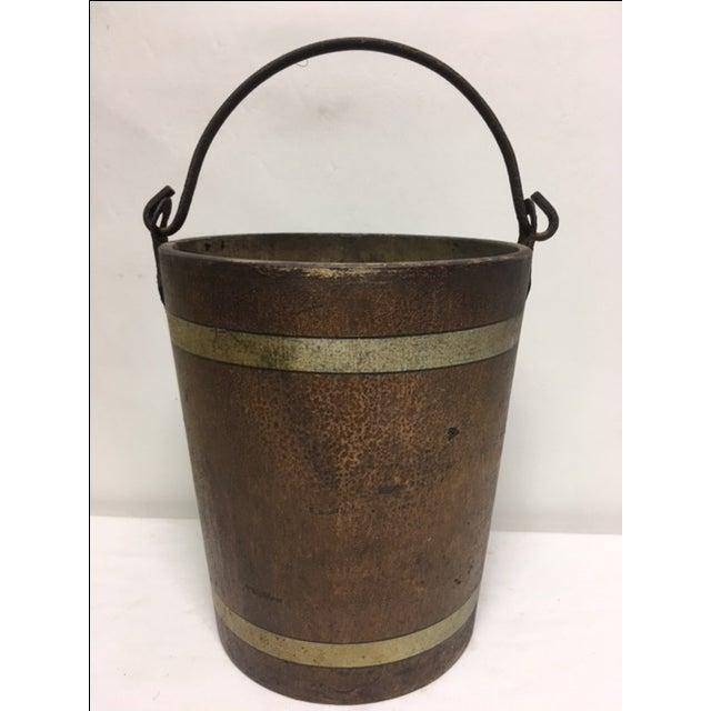 1880s Water Bucket - Image 2 of 5
