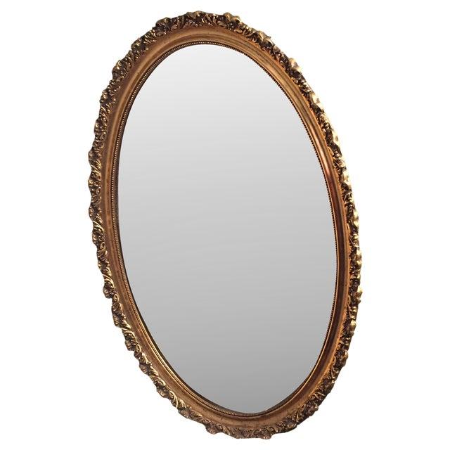 Hollywood Regency Gilt Mirror - Image 1 of 3