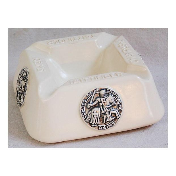 French Taittinger Champagne Cigar Ashtray - Image 2 of 8