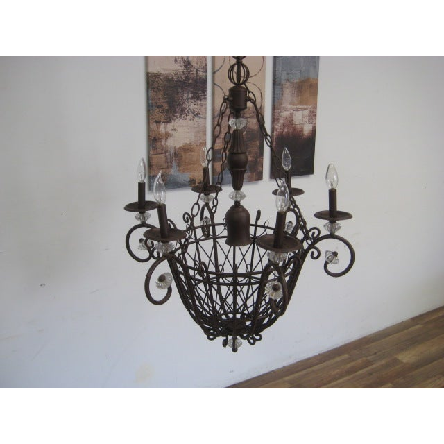 Oil Rubbed Bronze Candle Style Chandelier - Image 8 of 8