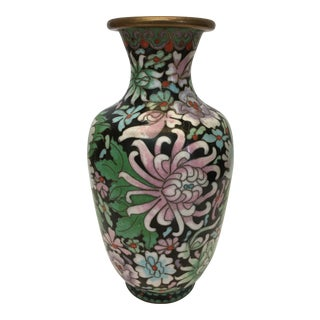 Decorative Chinese Cloisonné Vase