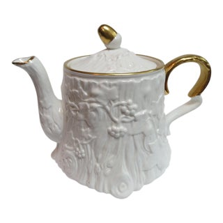 Royal Stafford Old English Oak Bone China Teapot