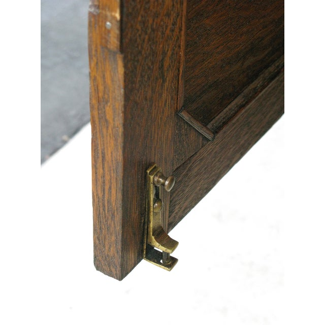 Oak Twist Leg Sideboard - Image 8 of 8