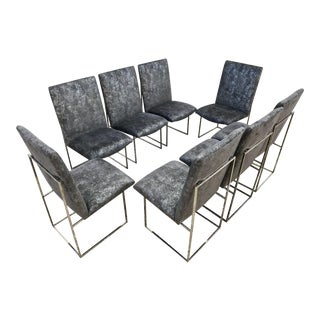 Milo Baughman for Thayer Coggin Dining Chairs - Set of 8