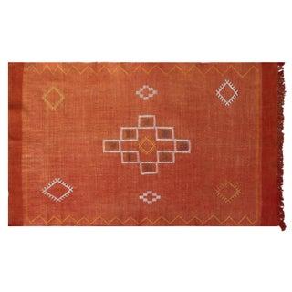 Moroccan Cactus Silk Rug - 3′ × 4′8″