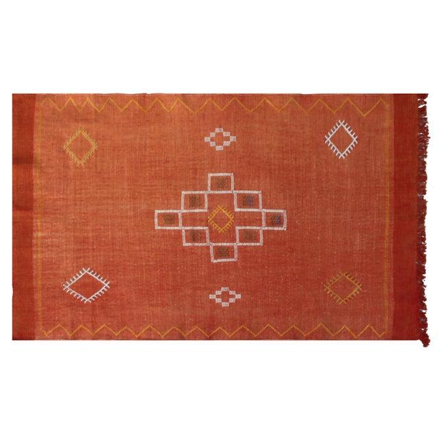 Moroccan Cactus Silk Rug - 3′ × 4′8″ - Image 1 of 2