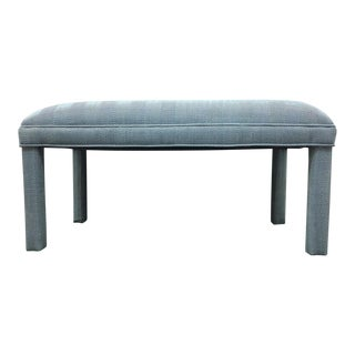 Parker Chambray Upholstered Bench