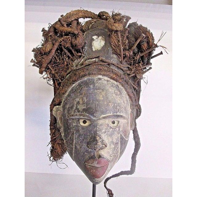 Antique Punu African Tribal Mask - Image 3 of 10