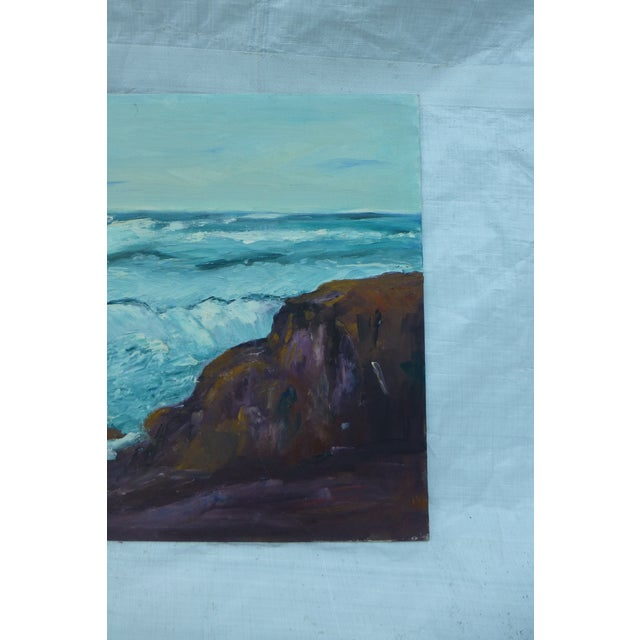 Image of H.L. Musgrave Mid-Century North Shore Painting