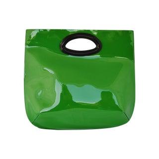 Marni Patent Leather Tote Borsa a Mano Green