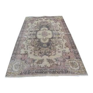 Turkish Oushak Anatolian Carpet - 5′2″ × 8′5″