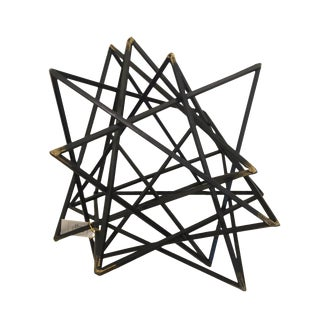 Modern Architectural Star Sculpture