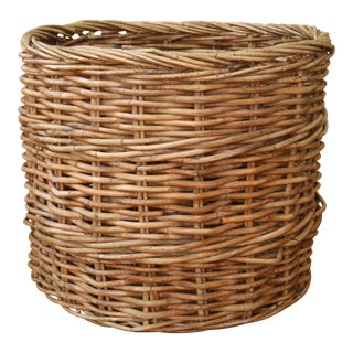 Oversize Willow Basket