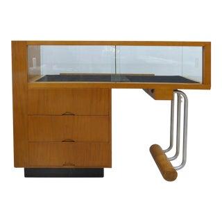 Vintage Weber Showcase Art Deco Display Case