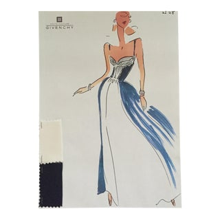 Givenchy Haute Couture Croquis Sketch