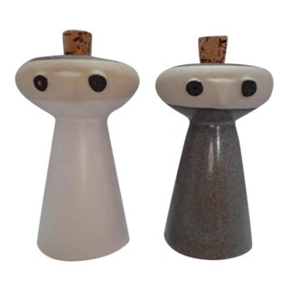 Mid-Century Bennington Pottery Salt & Pepper Shakers