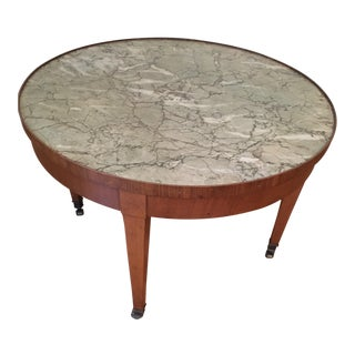 Baker Furniture Round Coffee Table