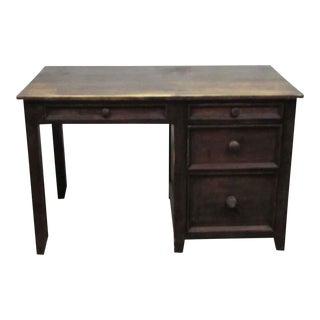 Solid Wood Storage Desk