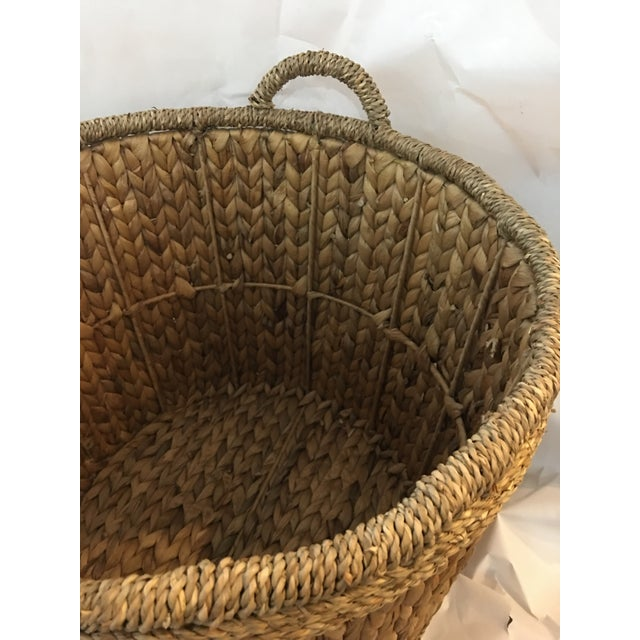 Woven Hyacinth Storage Basket - Image 4 of 4