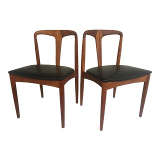 Teak Juliane Dining Chairs by Johannes Andersen - A Set of Two