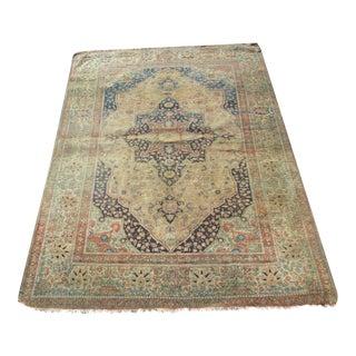 Rare Estate Antique Persian Motasham Kashan