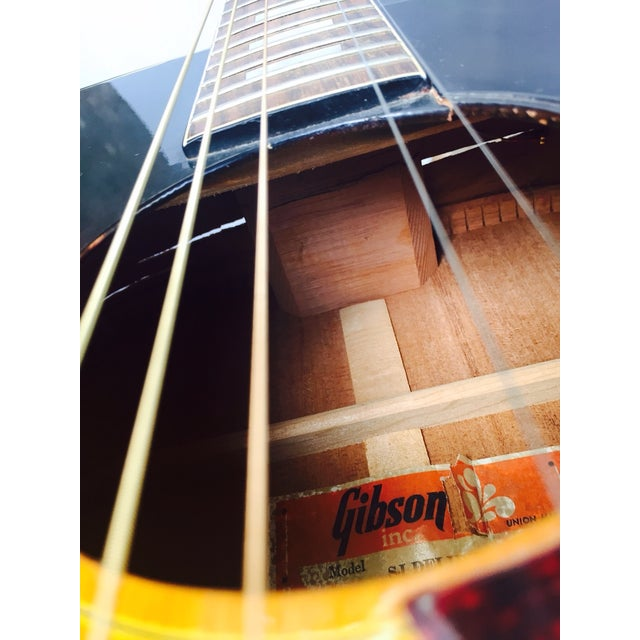 Vintage 1960s Gibson Acoustic Guitar - Image 6 of 10