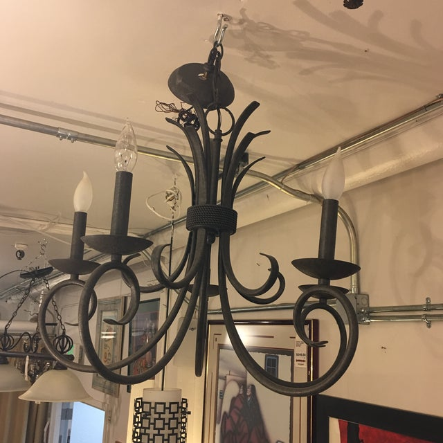 Image of Iron 5 Light Chandelier
