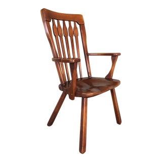Cushman Colonial Creations Comb Back Armchair