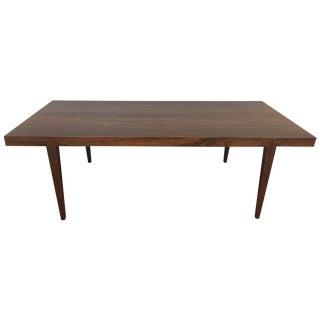 Severin Hansen Danish Rosewood Coffee Table